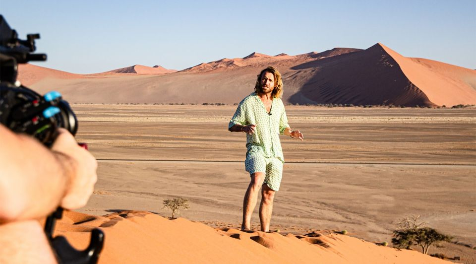 Charlie travels corona woestijn