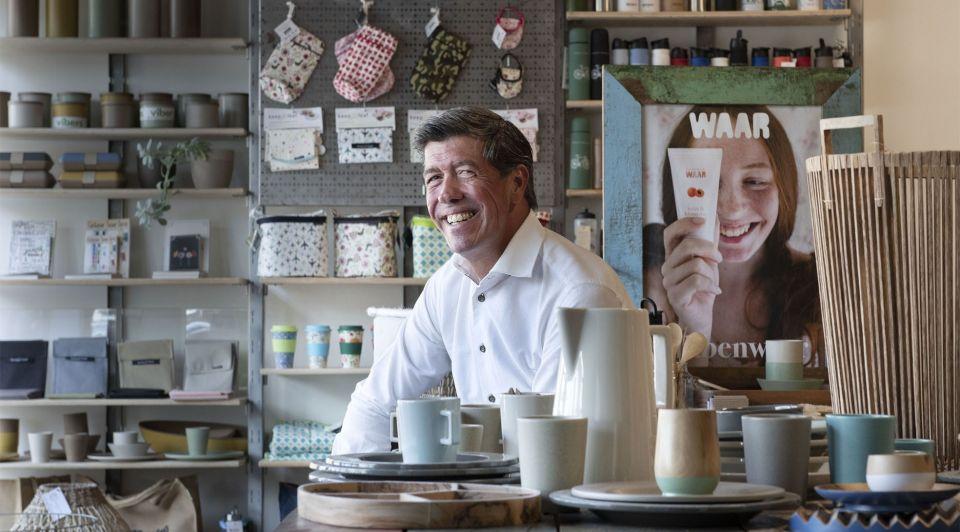 Clement WAAR duurzaam retail winkel beurs