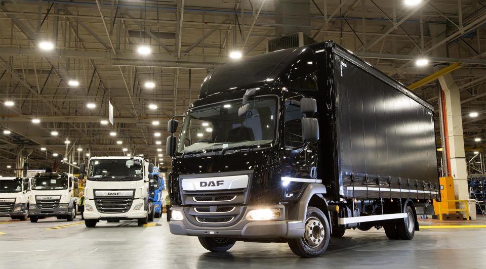 DAF succes corona engeland trucks eindhoven