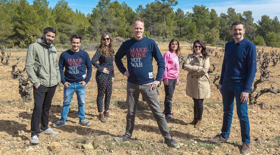 Derrick Neleman team wijn Spanje