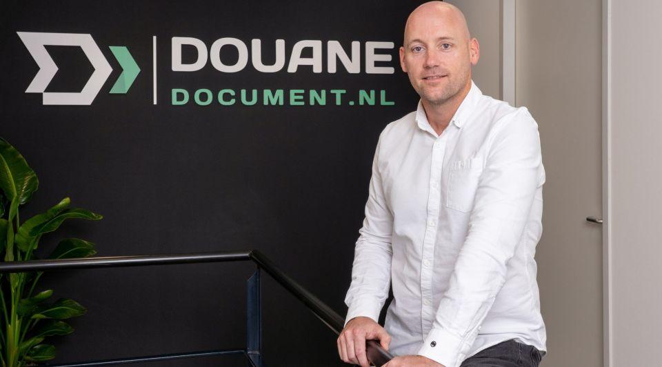 Erik Holland Douane document