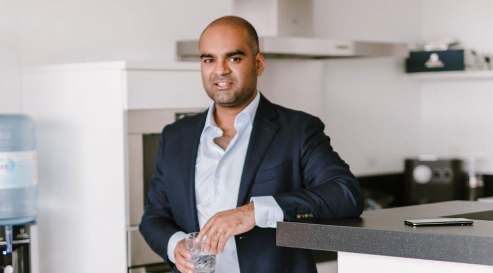 Faizal Sidiqui ondernemer