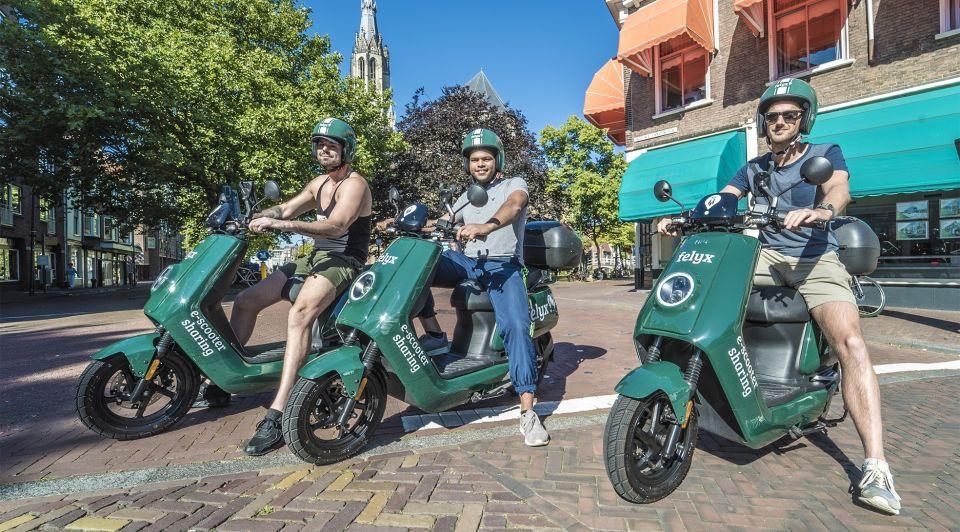 Felyx e scooters jongens