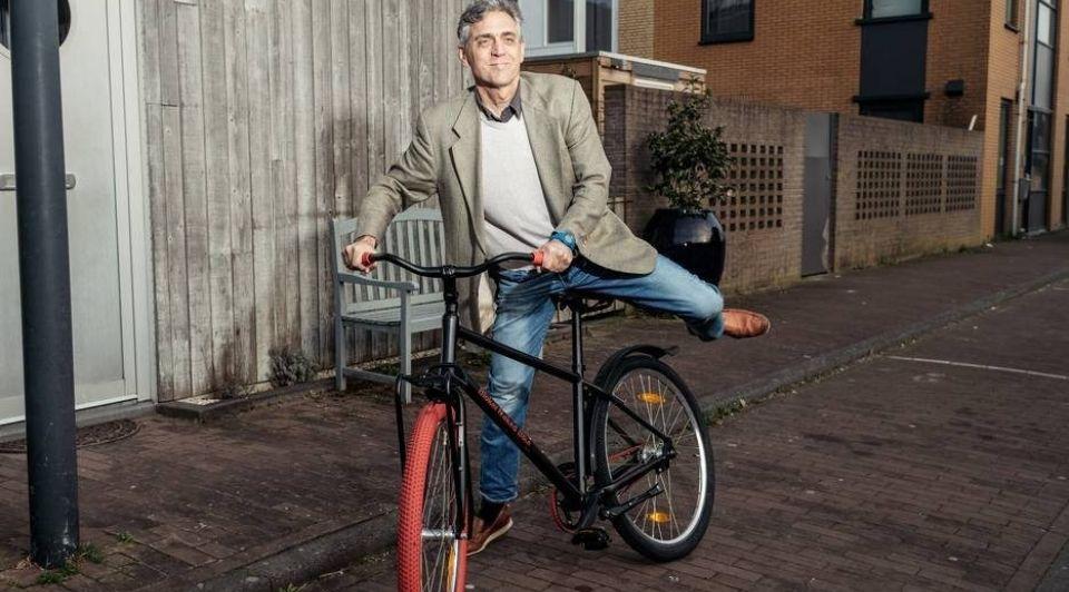 Fietsondernemer Pieter van der Straaten 1