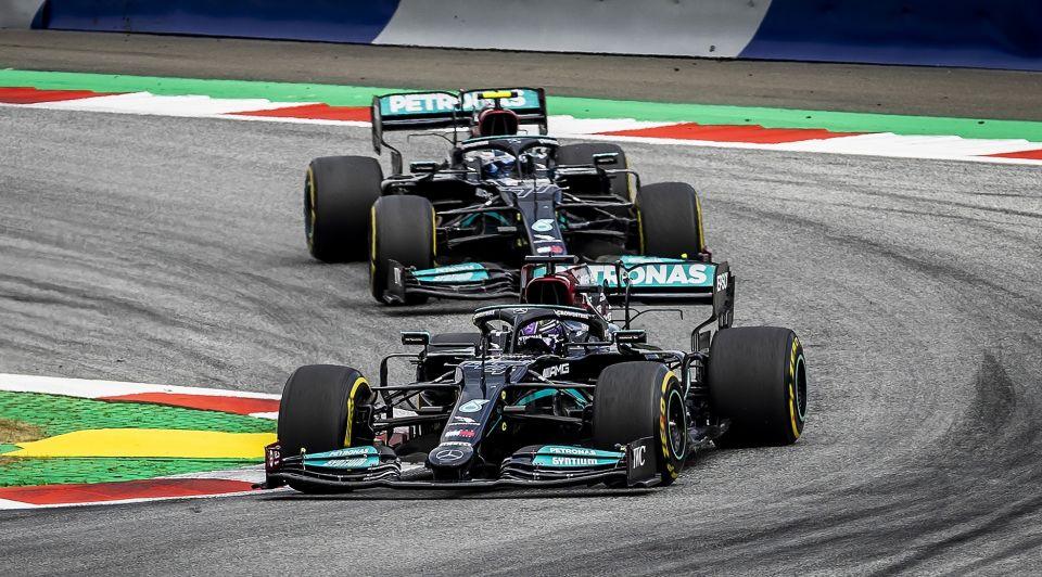 Formule 1 bolides