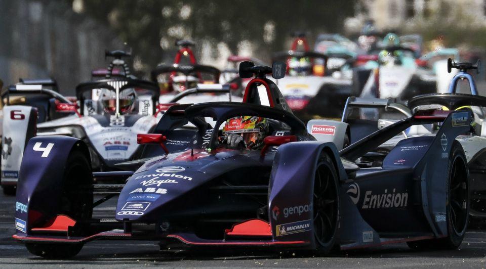 Formule E Robin Frijns