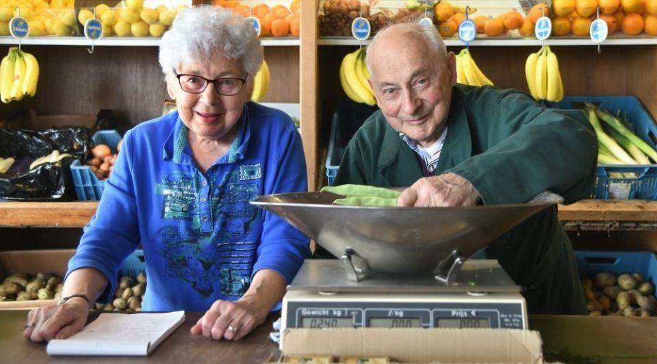 Groenteboer echtpaar Trimpe zeeland