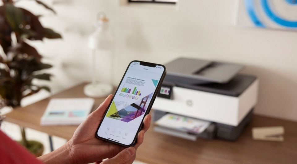 HP printer mobiel smartphone
