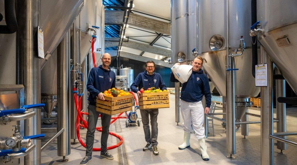 Harm van Deuren oprichter van Bierfabriek en Stadshaven Brouwerij