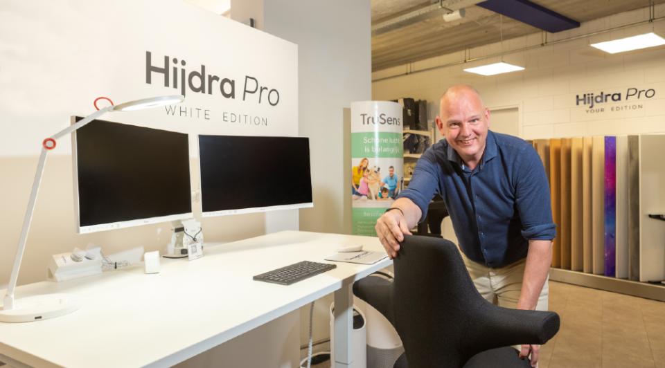 Hijdra werkplek inrichting bureau kantoor thuiswerken