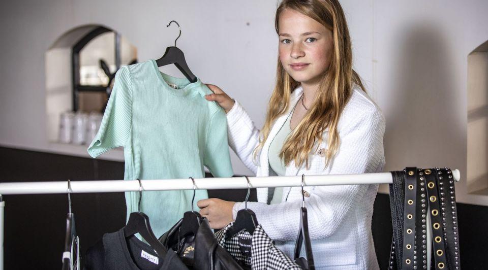 Hinke Scholten Linde jonge ondernemer 12 jaar Agelo twente sieraden tassen webshop