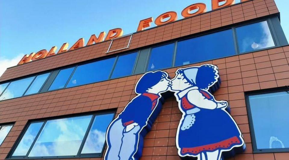 Holland Foodz gevel logo Oosterhout