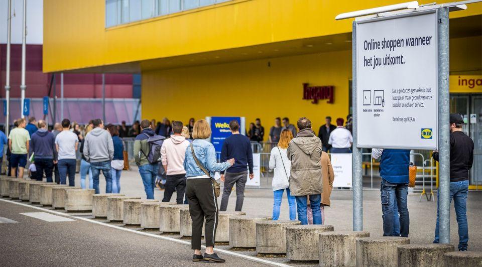 IKEA open Heerlen corona