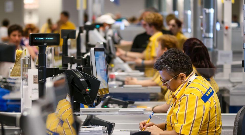 IKEA personeel sollicitatie bank
