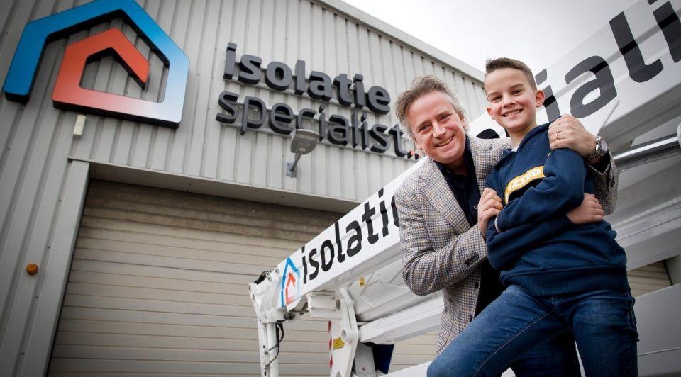 Isolatiespecialist Pieter Schoen investeerder financiering