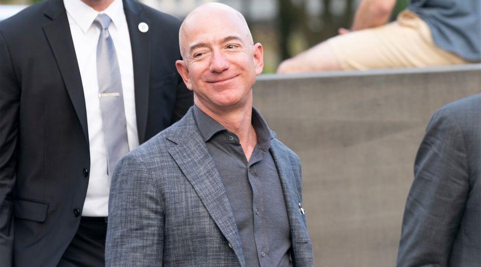 Jeff Bezos Forbes portret Amazon rijkste