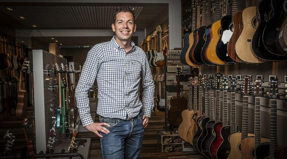 Jochanan Bax winkel gitaren