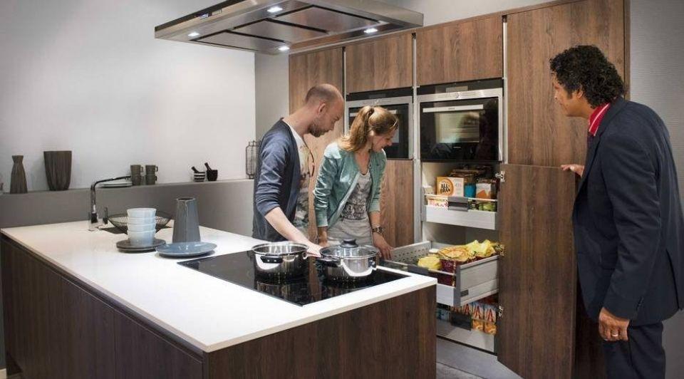 Keukens niet aan te slepen