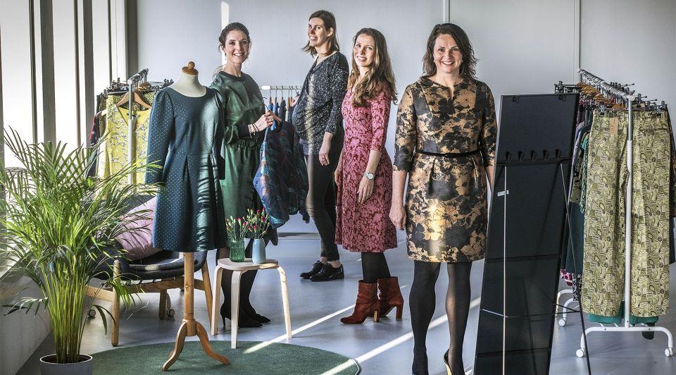 Kledingverhuur duurzaam bieb retail kleding