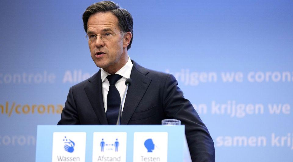 Mark Rutte persconferentie 9 juli