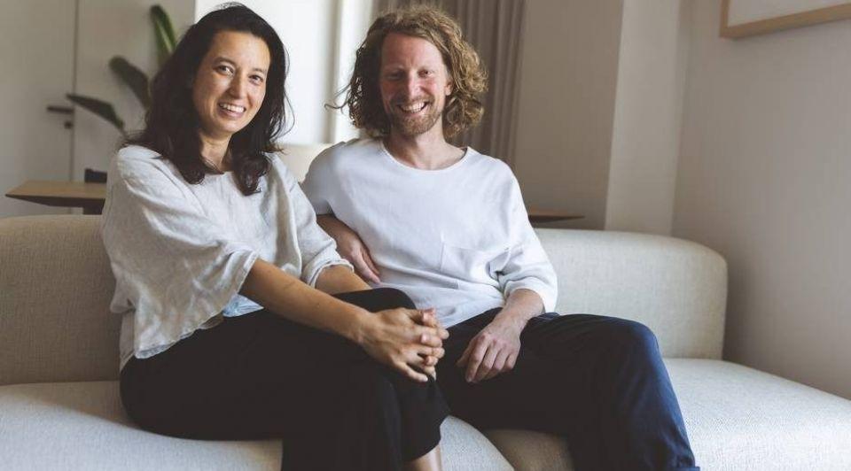 Ondernemers Daphne Kniest l en Wouter Kock