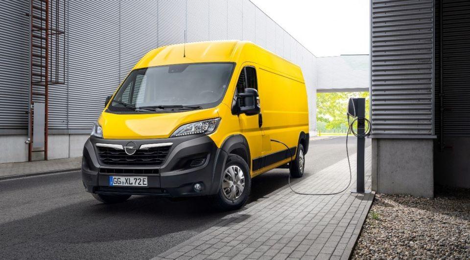 Opel Movano elektrisch bestelbus