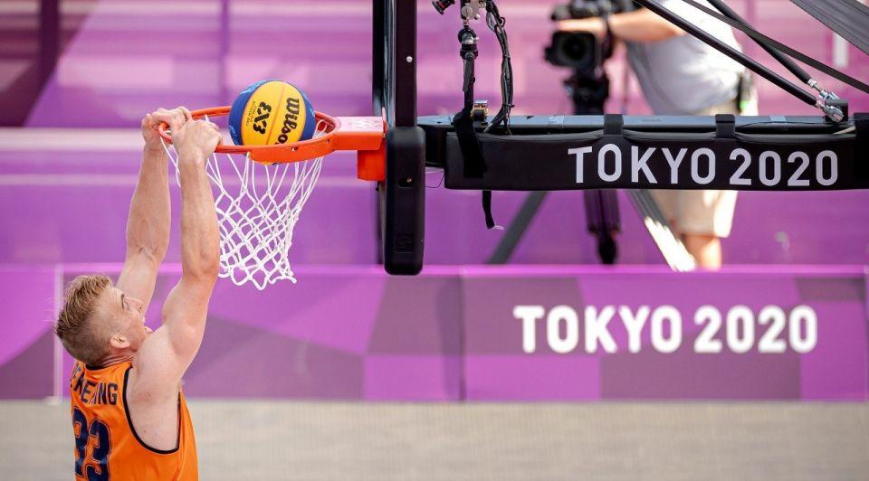 Oranje OS 3x3 basketbal sport olympische spelen 2021