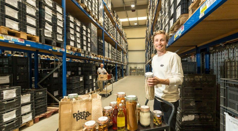 Pieter Pot Jouri Schoemaker potten warehouse