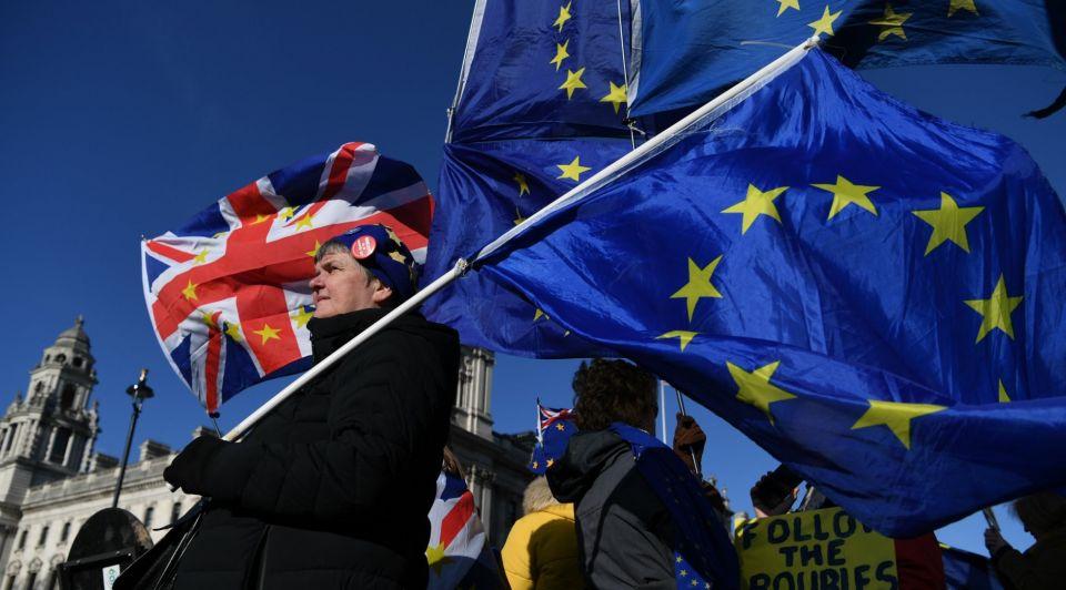 Protesten Brexit