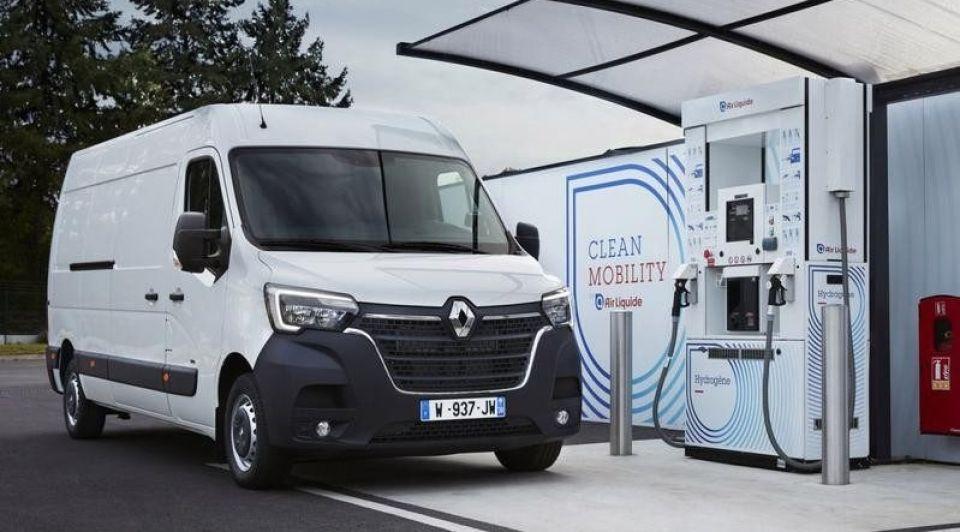 Renault op waterstof