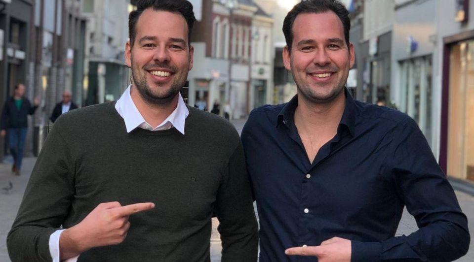 Robert en Joost Wohl tweeling