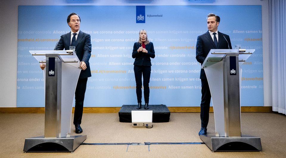 Rutte De Jong persconferentie 2 februari spreken