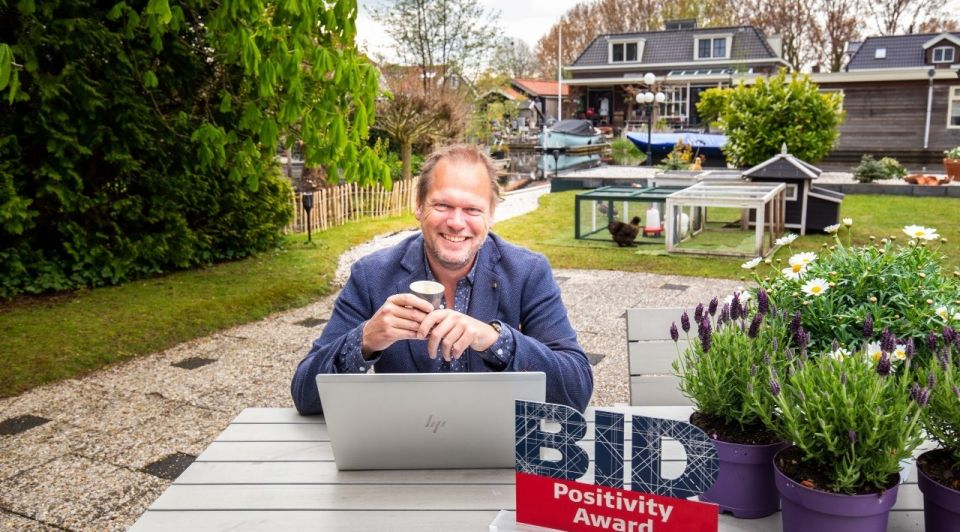 SVH Ricardo Eshuis horeca BID Positivity Award 2021
