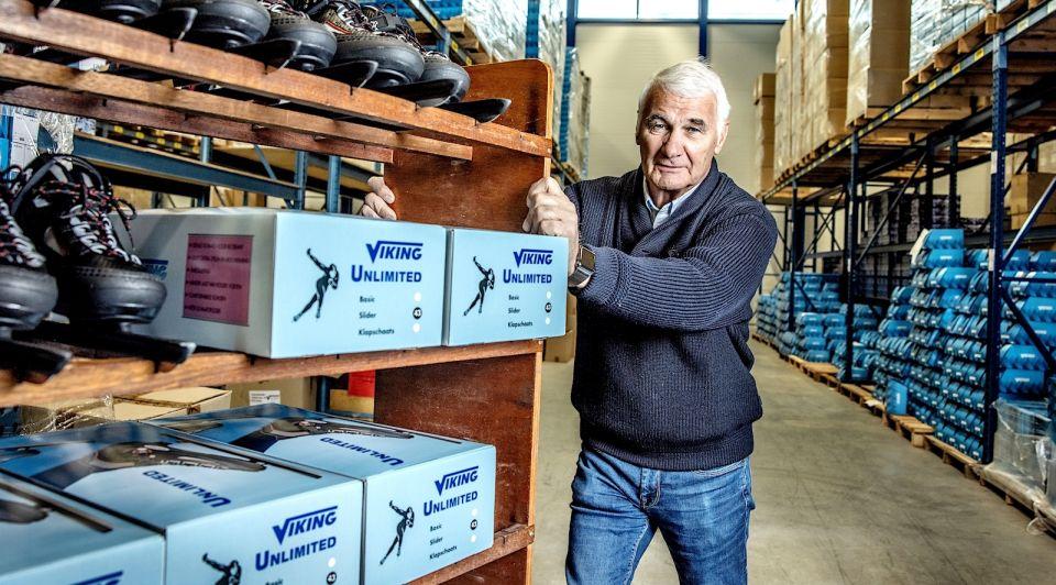 Schaatsfabrikant Viking ijs schaatsen elfstedentocht Jaap Havekotte