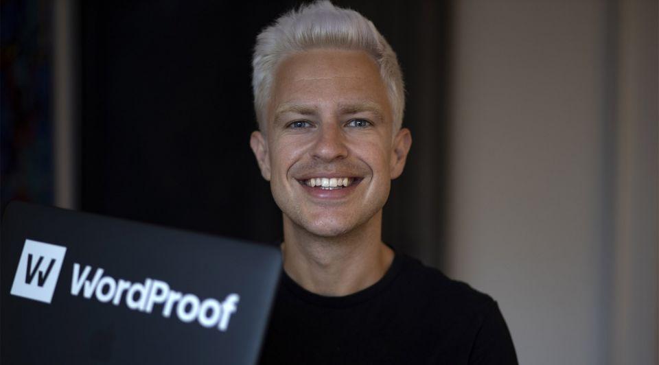 Sebastiaan Lans Wordproof startup blockchain 2