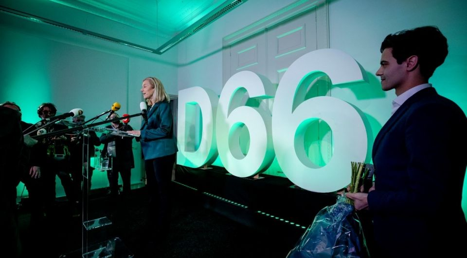 Sigrid Kaag D66 verkiezingen 2021