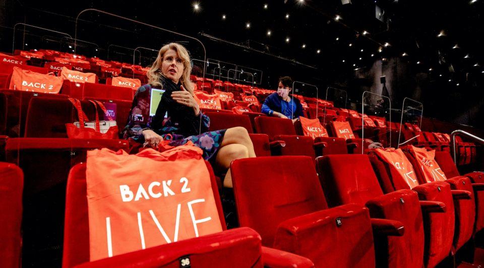 Staatssecretaris Mona Keijzer Utrecht Beatrix theater fieldlab proefevenement corona