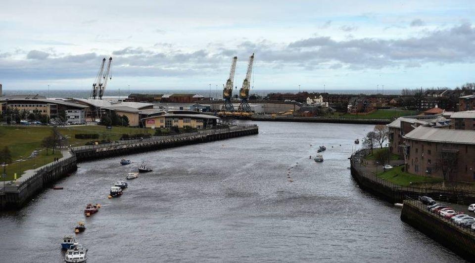 Sunderland in het noordoosten van het Verenigd Koninkrijk wil een van de tien vrijhavens worden Hollandse Hoogte