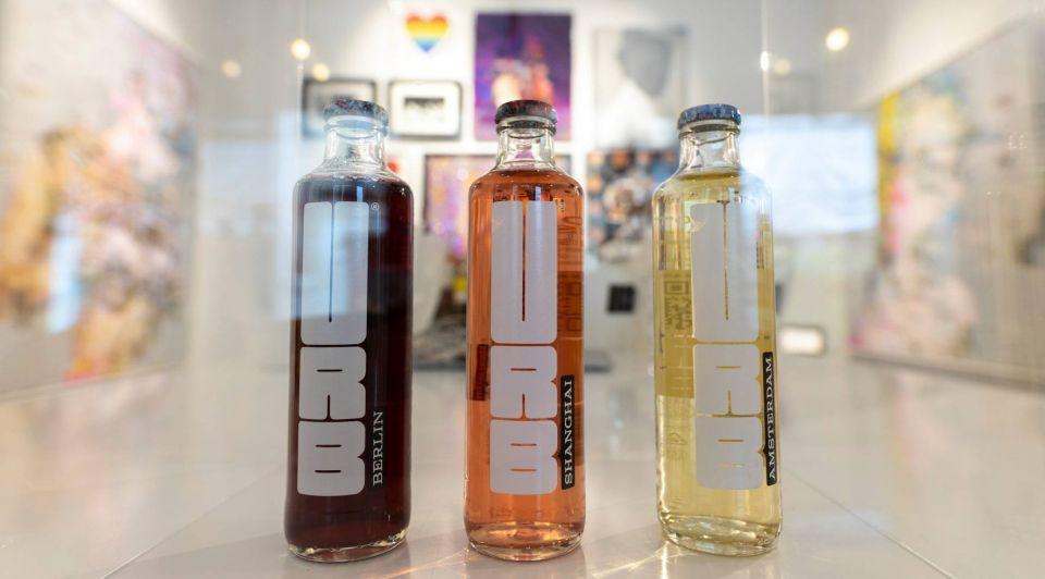 URB flessen wit