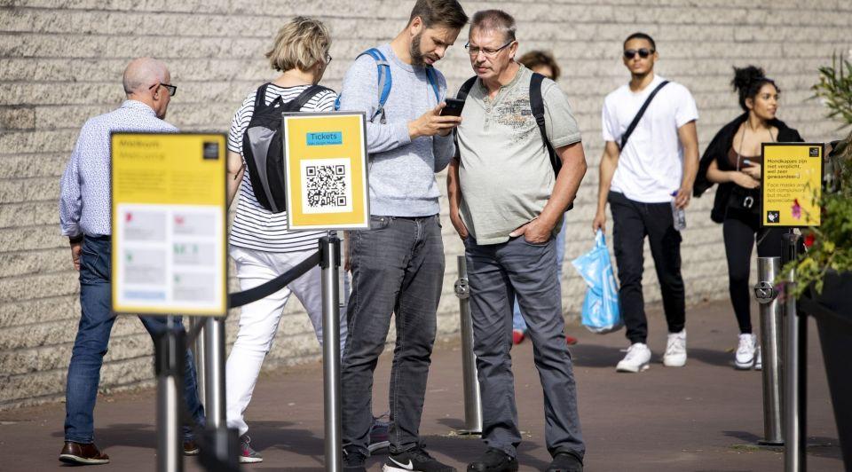 Van Gogh Museum corona pas