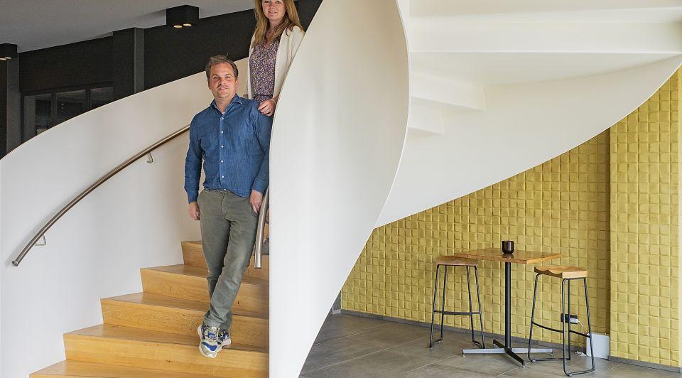 Van der Valk Hotel Nijmegen Lent Thijs Boomkens en Marije van der Valk P5274802