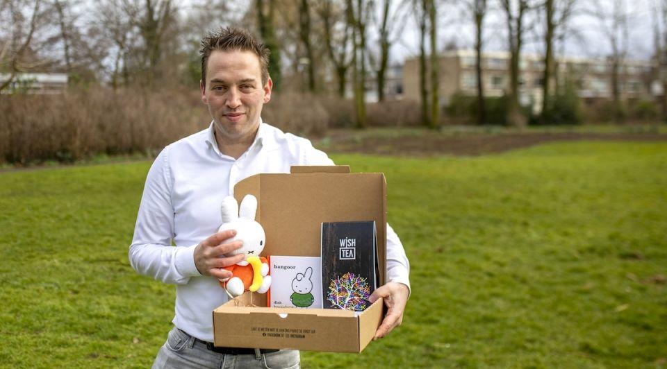 Victor Wagemakers Wish Tea thee pesten Nijntjebox