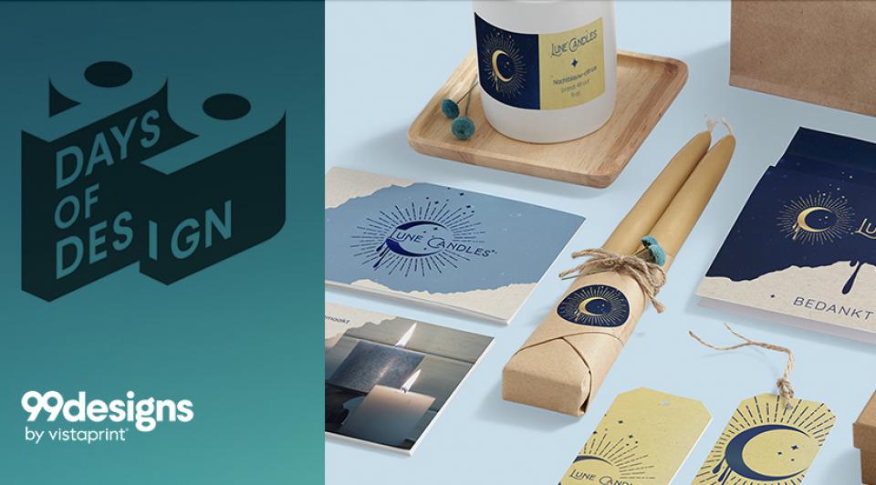 Vistaprint 99designs wedstrijd ondernemers