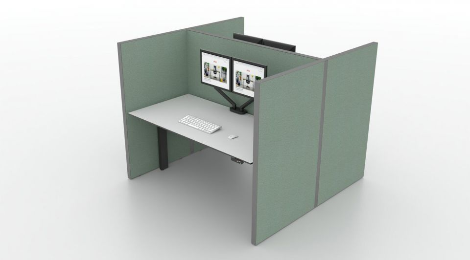 Ahrend duodesk kantoor corona