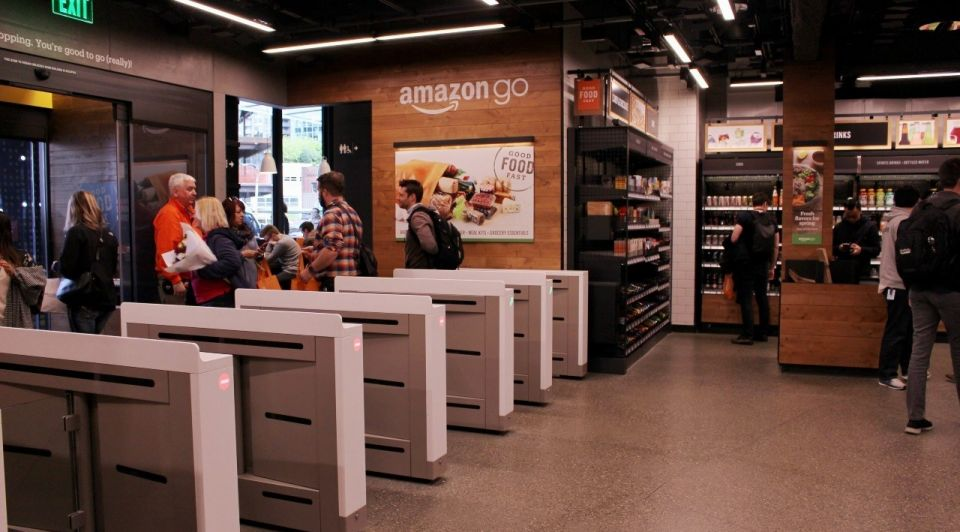 Amazon go winkelen retail shopping