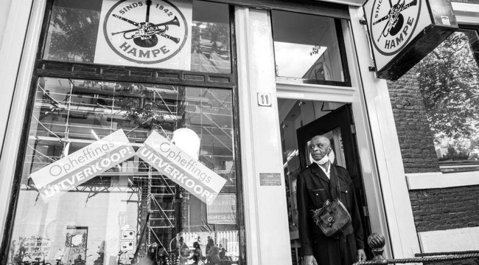 Amsterdamse muziekwinkel hampe berkel 178