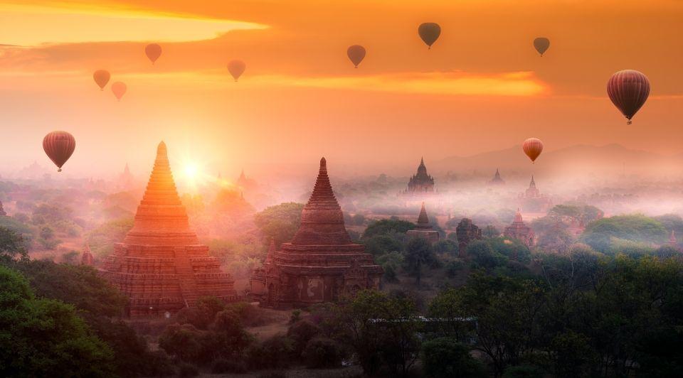 Bagan miyanmar talisman travel virtueel