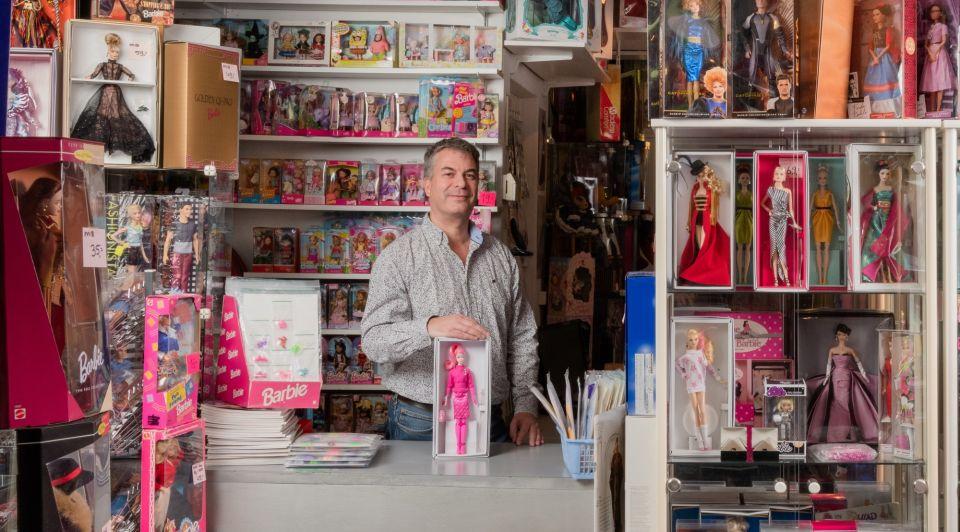 Barbie winkel verzamelaars goeie zaak pm collectibles