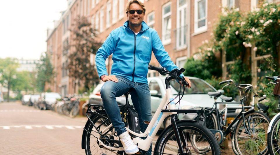 Bas smit fiets zapp influencer
