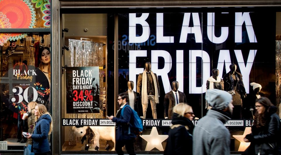 Black friday straatbeeld shoppen blog